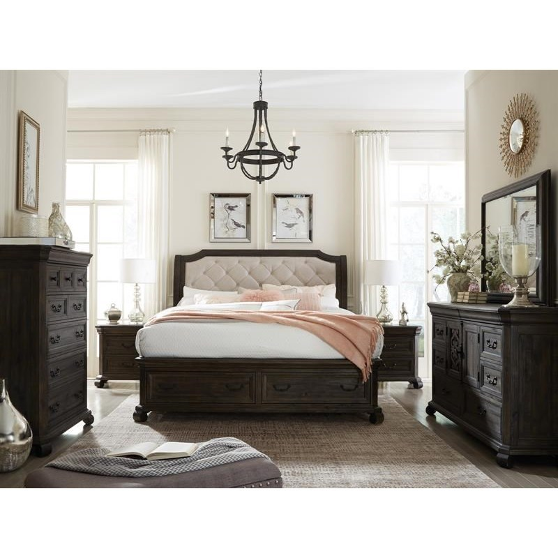 Bellamy California King Storage Bedroom Group by Magnussen Home at Suburban Furniture