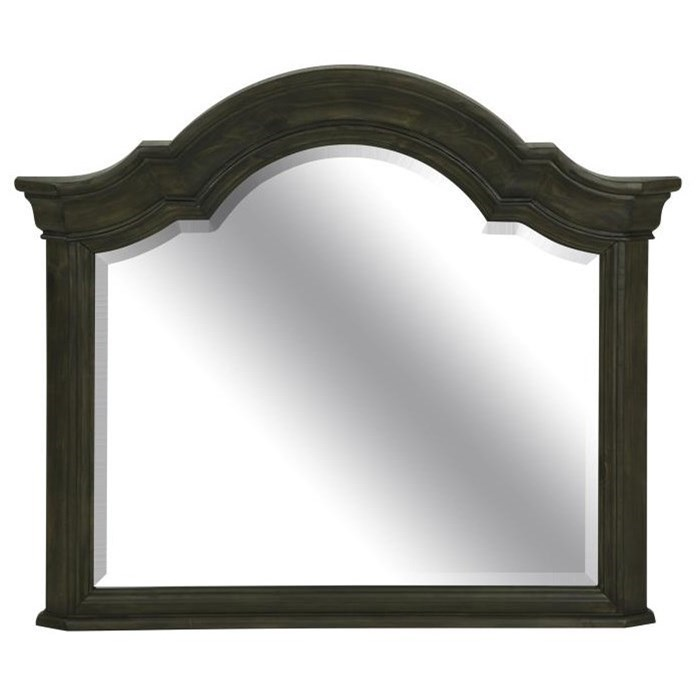 Bellamy Shaped Mirror by Magnussen Home at Stoney Creek Furniture