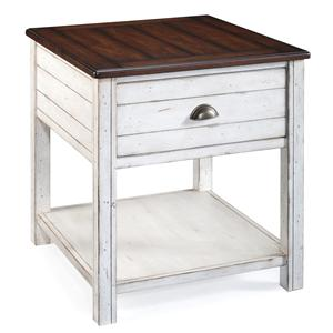 Magnussen Home Bellhaven Rectangular End Table
