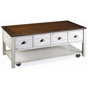 Magnussen Home Bellhaven Rectangular Cocktail Table