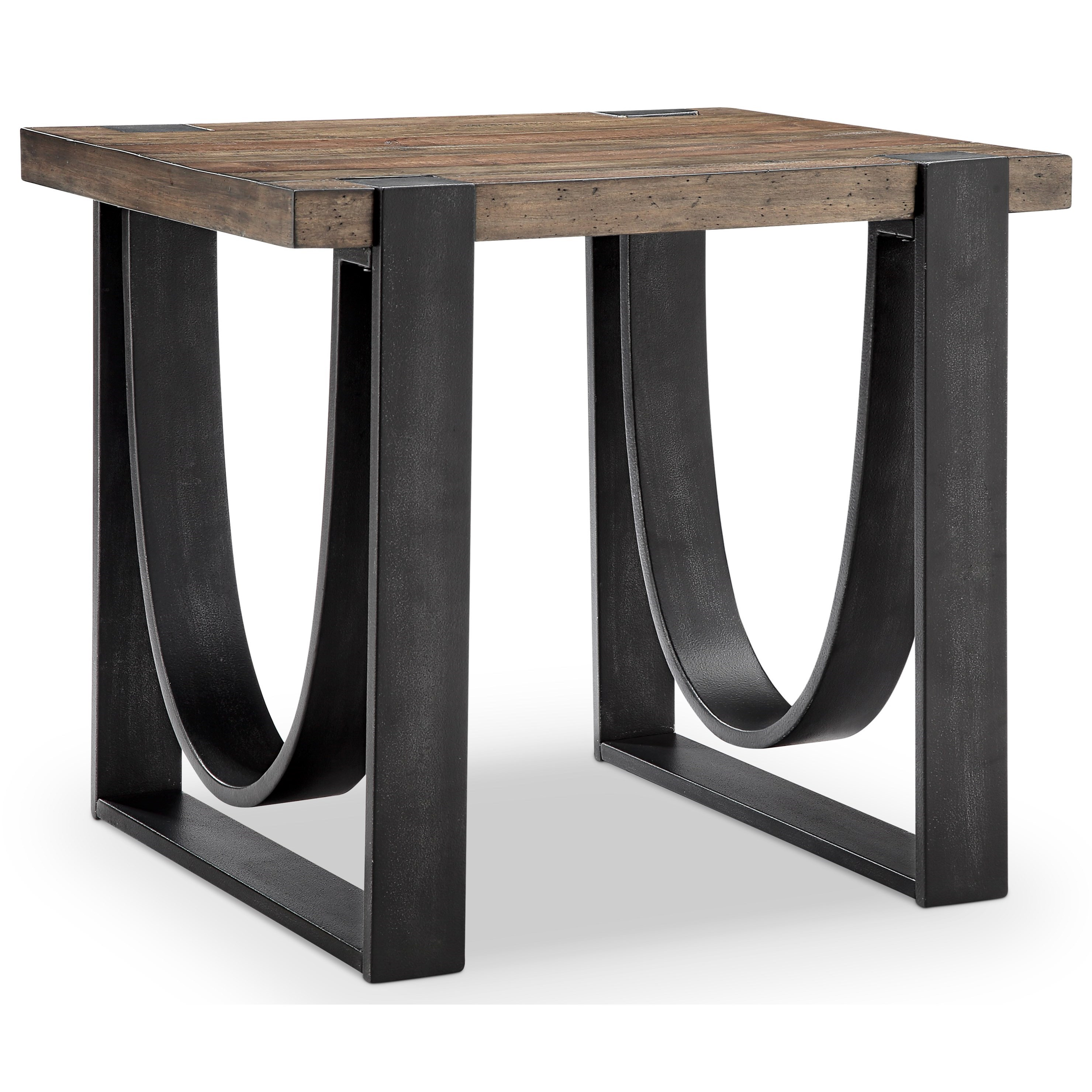Bowden  Rectangular End Table by Magnussen Home at Darvin Furniture