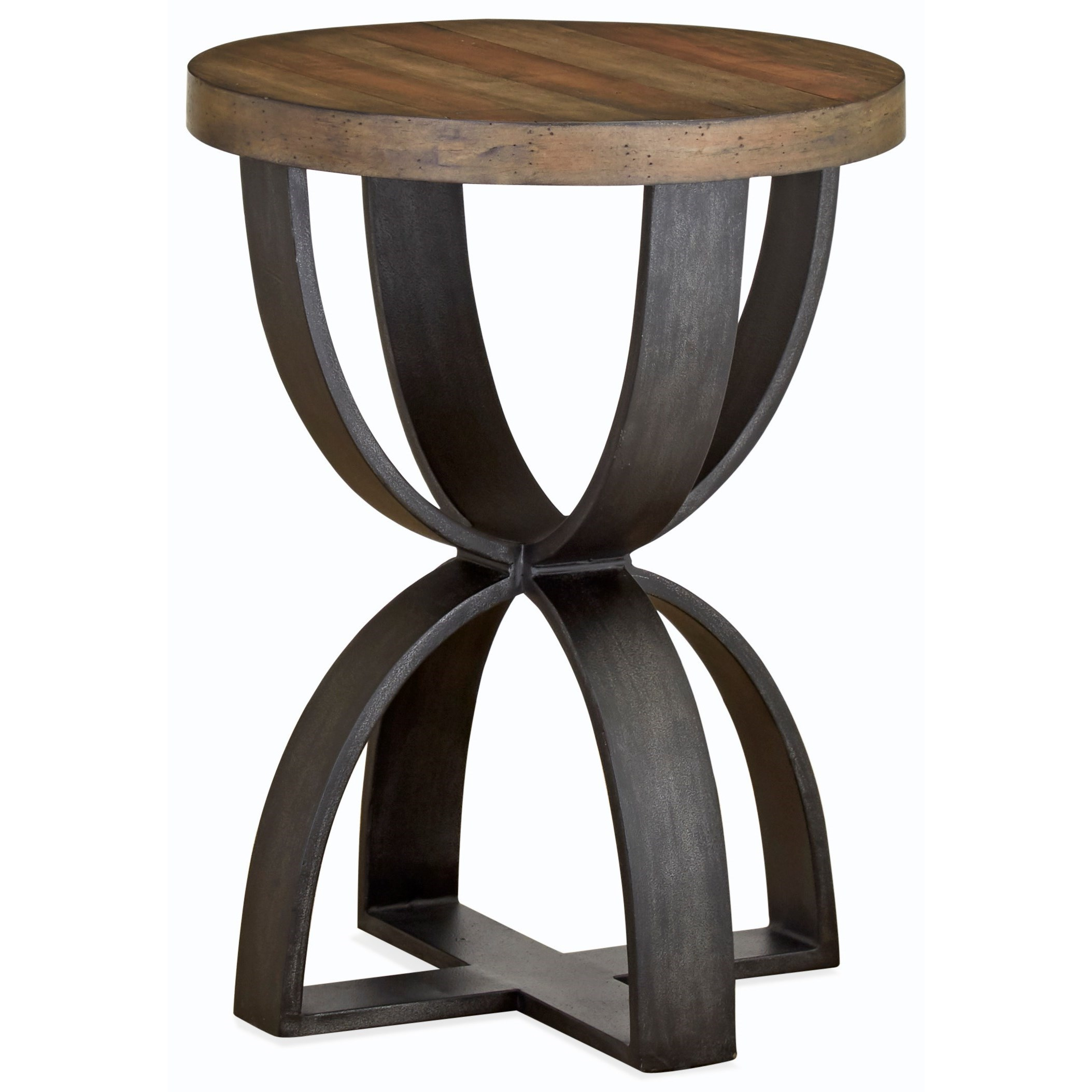 Bowden  Round Accent Table by Magnussen Home at Darvin Furniture