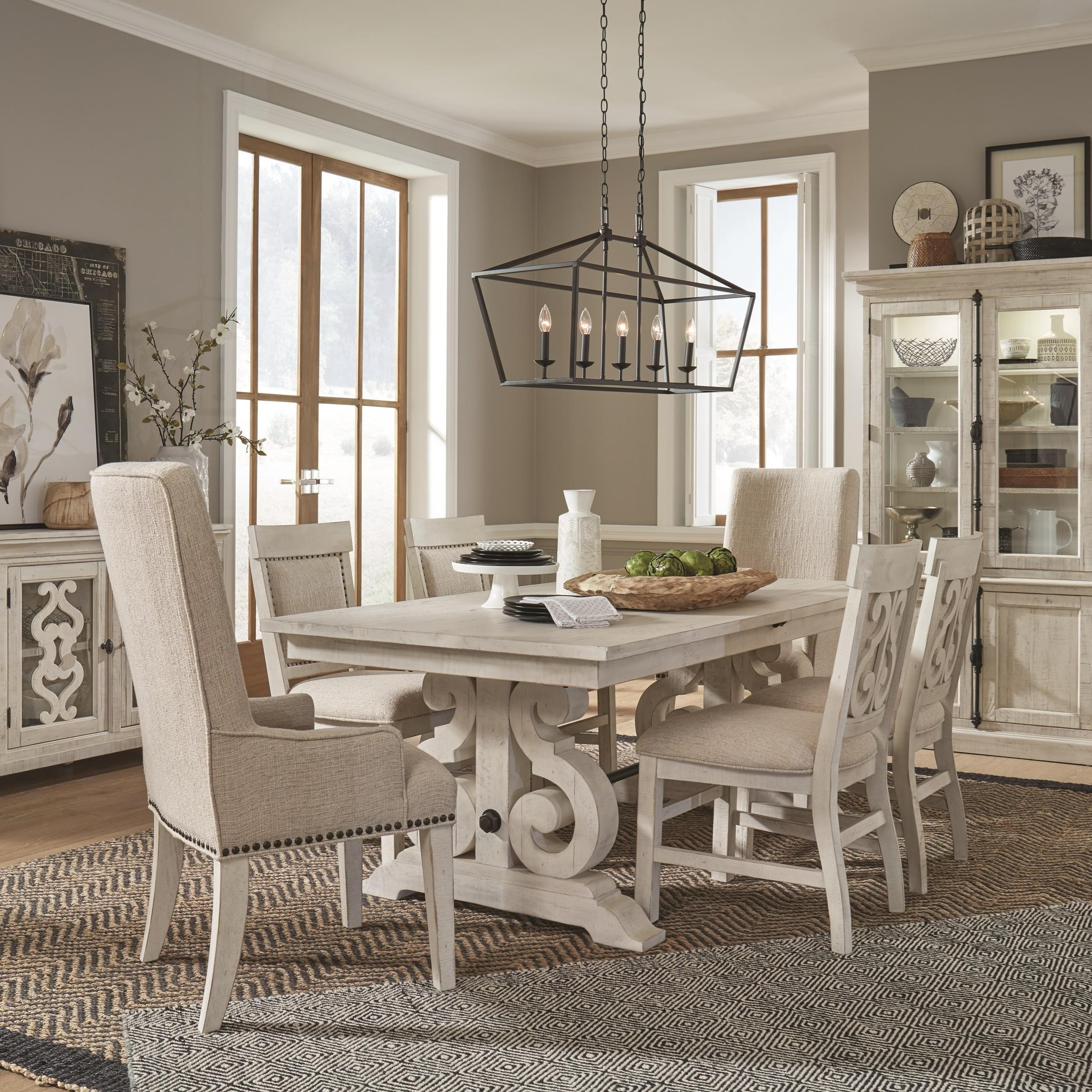 Bronwyn 7-Piece Dining Table Set by Magnussen Home at Stoney Creek Furniture