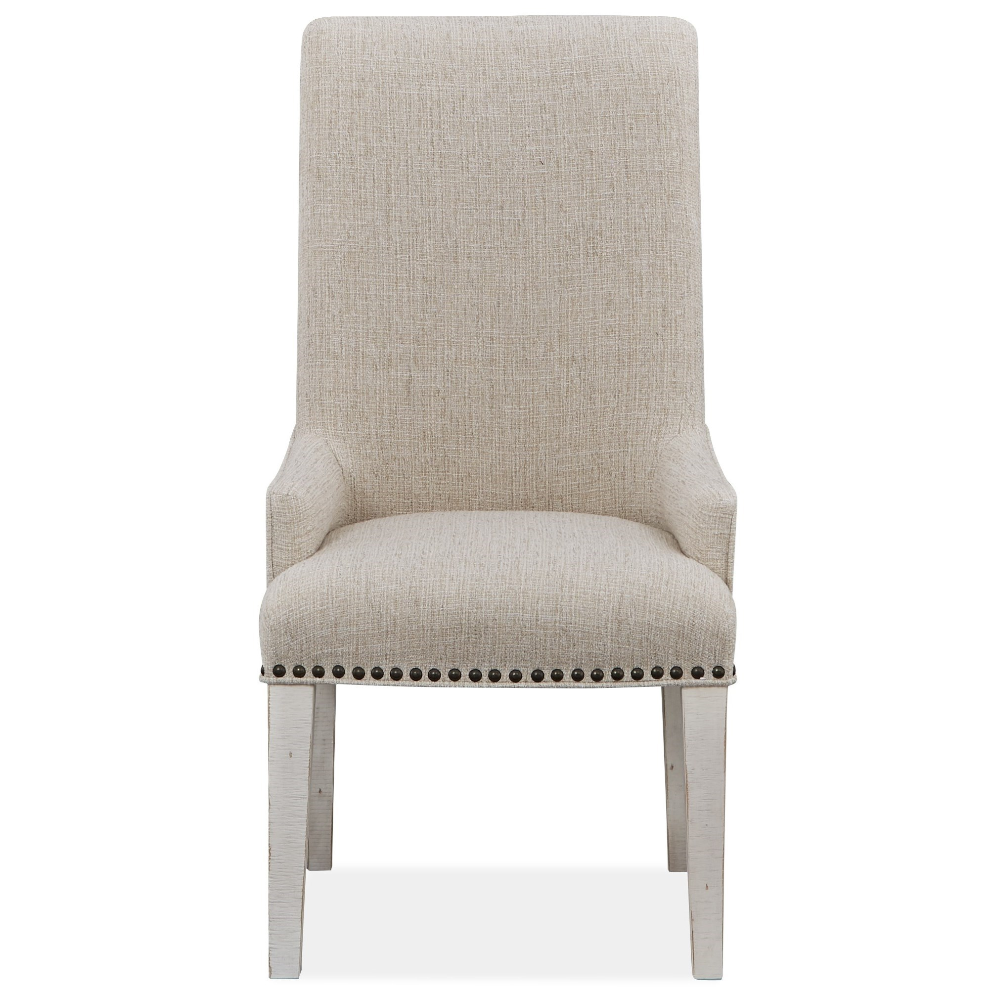 Bronwyn Upholstered Host Side Chair by Magnussen Home at Stoney Creek Furniture