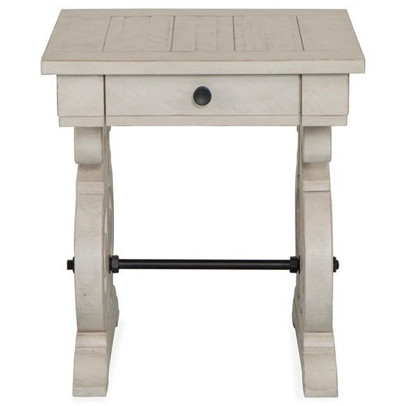 Bronwyn Rectangular End Table  by Magnussen Home at Stoney Creek Furniture