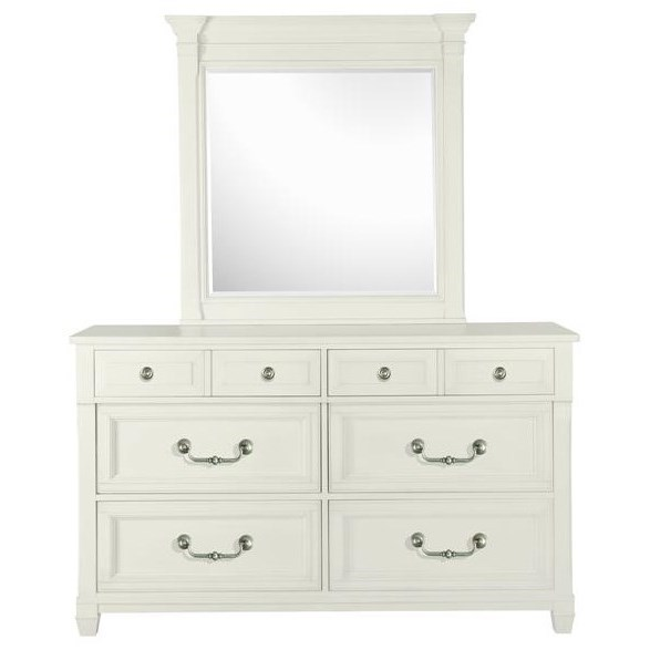 Brookfield 6 Drawer Dresser and Mirror by Magnussen Home at Stoney Creek Furniture