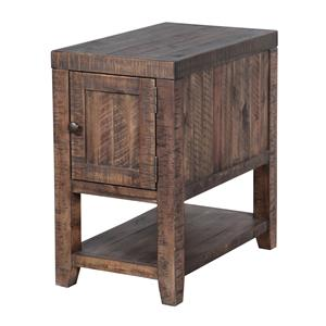 Magnussen Home Caitlyn Rectangular Chairside Table