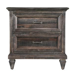 2-Drawer Night Stand with Touch Lighting