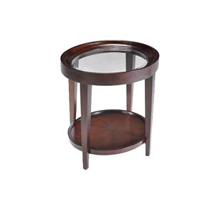 Magnussen Home Carson  Oval End Table