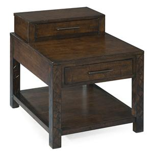 Magnussen Home Cavelle Rectangular End Table