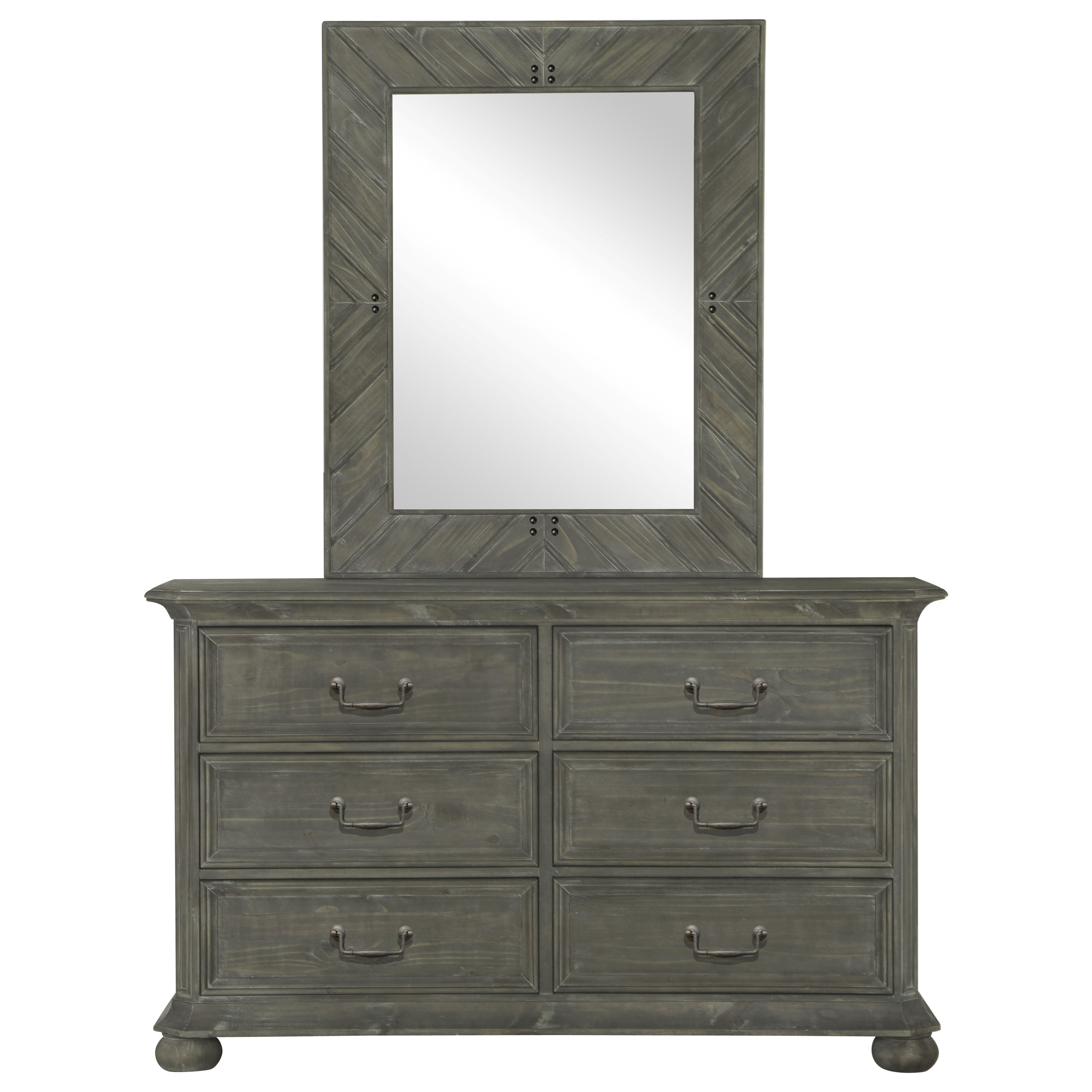 Cheswick Dresser and Mirror by Magnussen Home at Value City Furniture