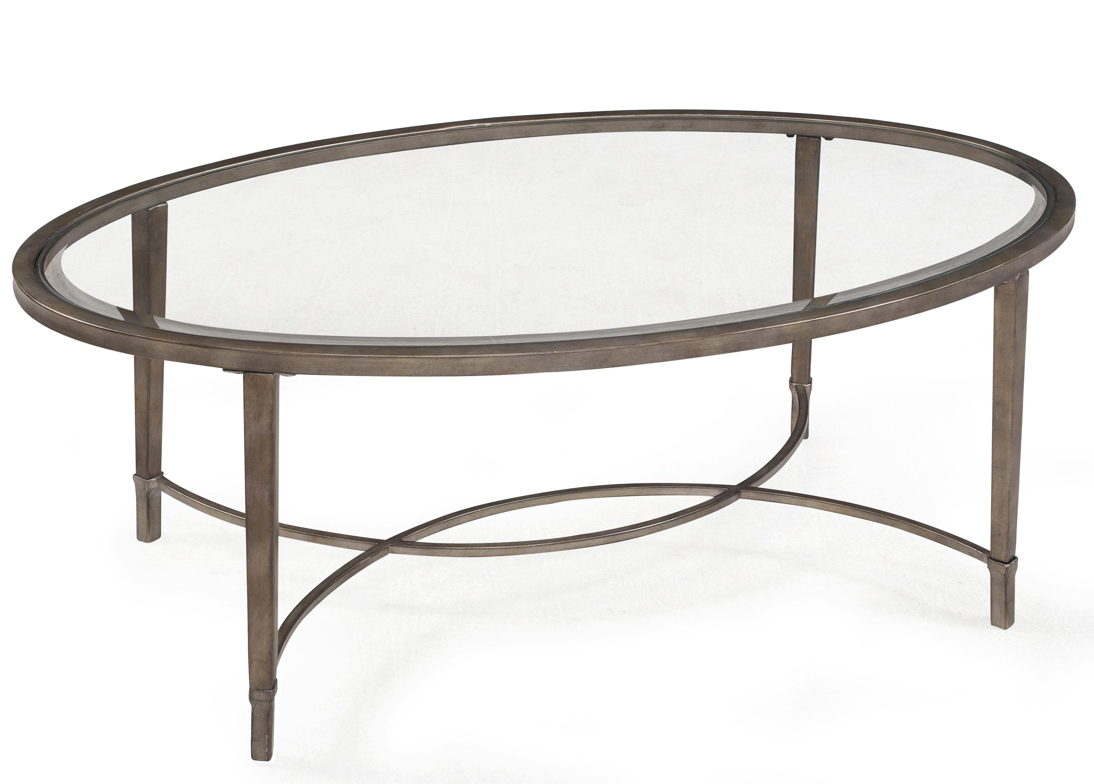 Copia Oval Cocktail Table by Magnussen Home at Baer's Furniture