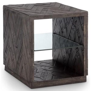 Modern Rectangular End Table