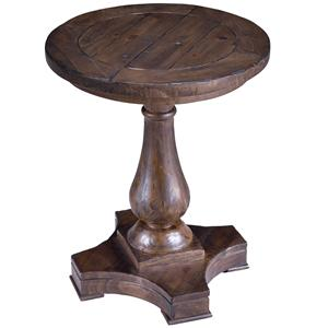 Magnussen Home Densbury Round Accent End Table