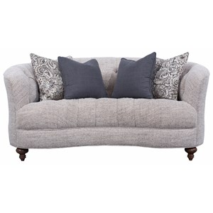 Traditional Tufted Loveseat