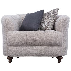 Traditional Tufted Chair