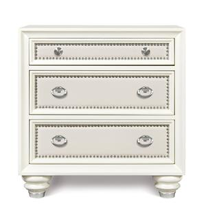 Magnussen Home Diamond Bedroom Drawer Nightstand