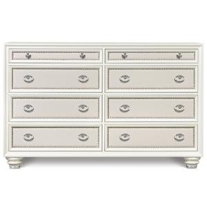 Magnussen Home Diamond Bedroom Drawer Dresser