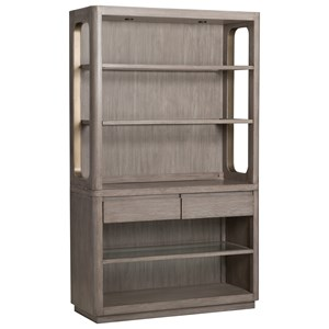 Server with Hutch and Touch Lighting