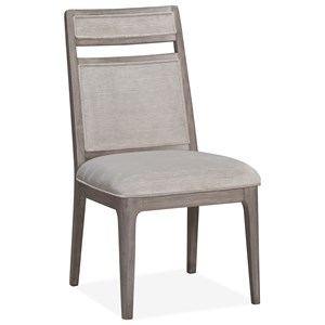 Dining Side Chair with Upholstered Seat and Back