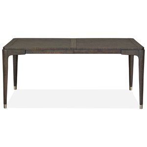 "Rectangular Dining Table with 20"" Table Leaf"