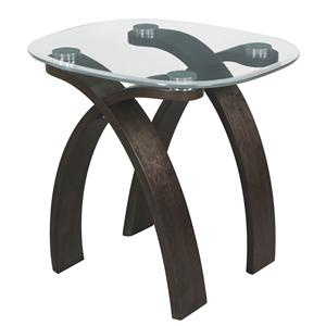 Magnussen Home Forum Oval End Table