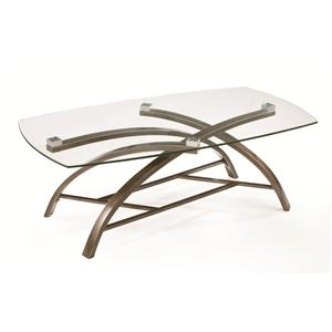 Magnussen Home Frisco Rectangular Cocktail Table