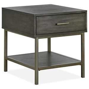 Mid-Century Modern End Table