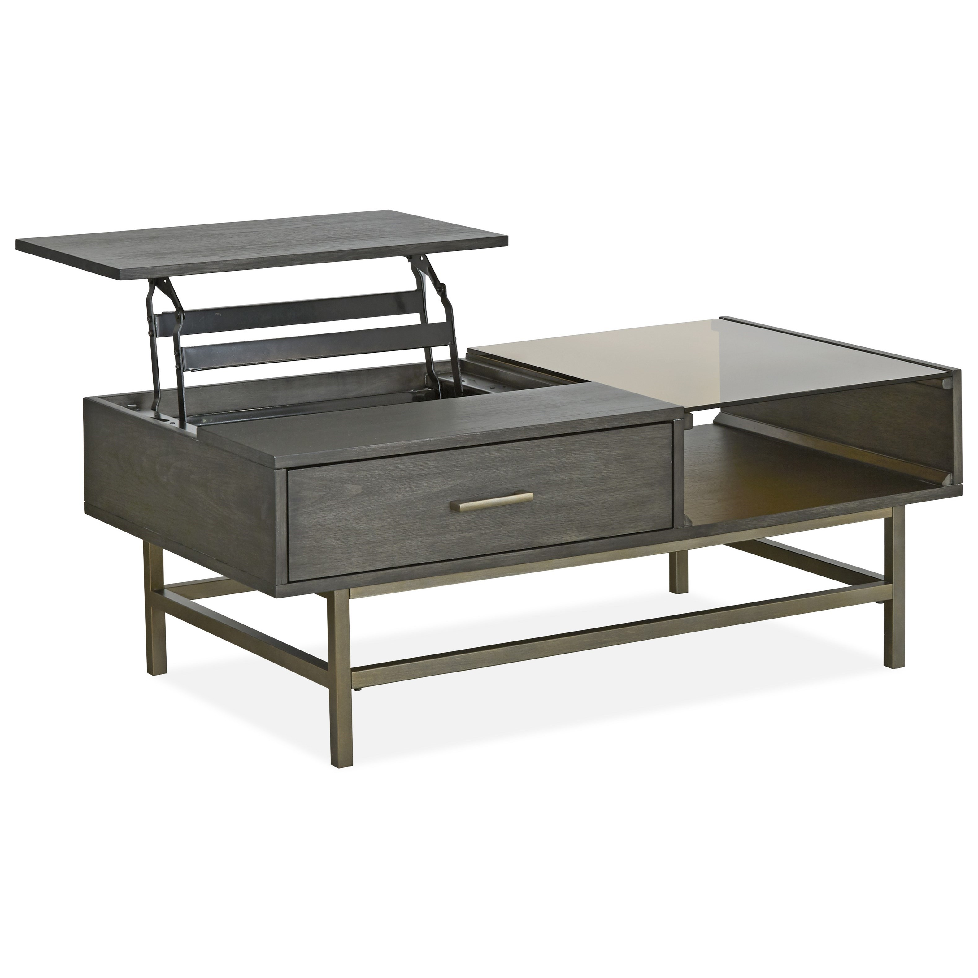 Fulton MH Lift Top Cocktail Table by Magnussen Home at Baer's Furniture