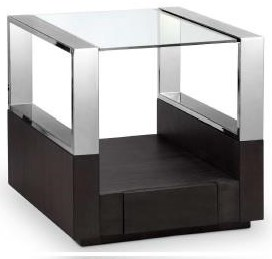 Galloway Galloway End Table by Magnussen Home at Morris Home