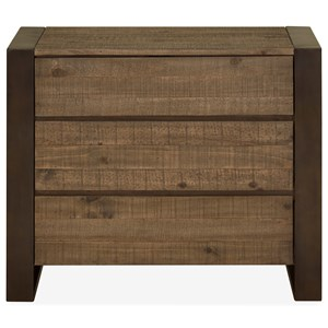 3 Drawer Bachelor Chest with Felt-Lined Top Drawer
