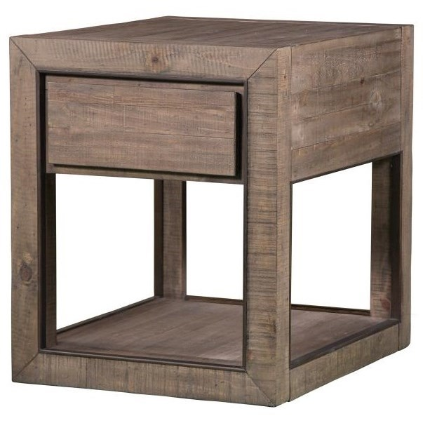 Granada Hills Rectangular End Table by Magnussen Home at Baer's Furniture