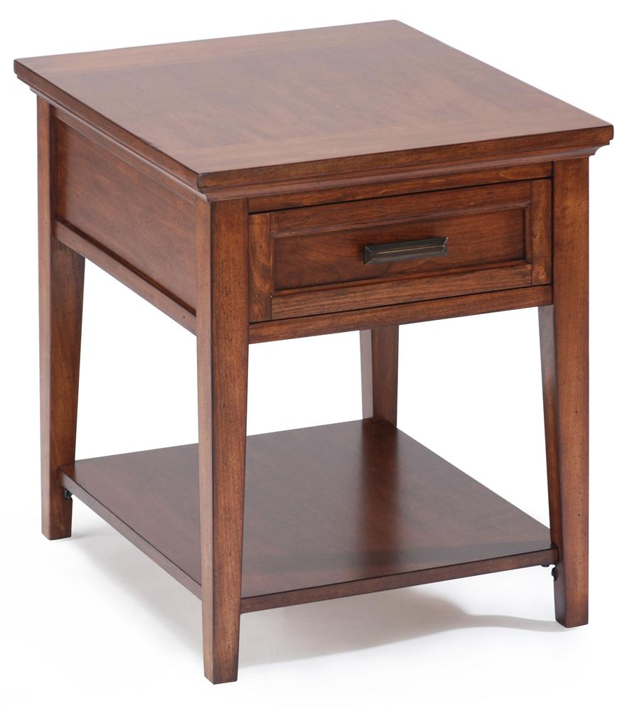 Harbor Bay End Table by Magnussen Home at Baer's Furniture