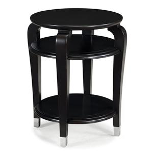 Magnussen Home Harper Round Accent Table