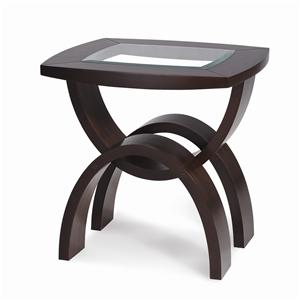 Magnussen Home Helix Rectangular End Table