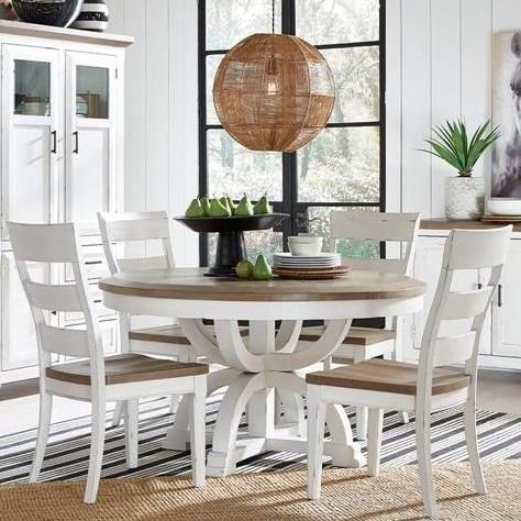 Hutcheson 5-Piece Dining Set  by Magnussen Home at Upper Room Home Furnishings