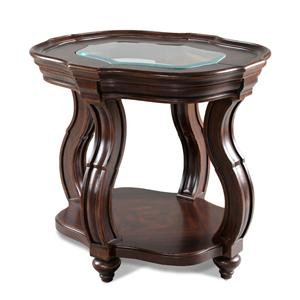 Magnussen Home Isabelle Oval End Table