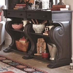 Traditional Sideboard with Scrolled Legs