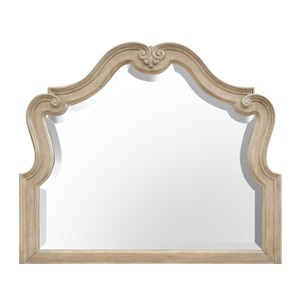 Decoratively Carved Mirror