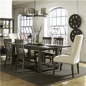 Magnussen Home Karlin 7 Pc Dining Set