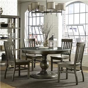 Magnussen Home Karlin 5 Piece Table and Chair Set