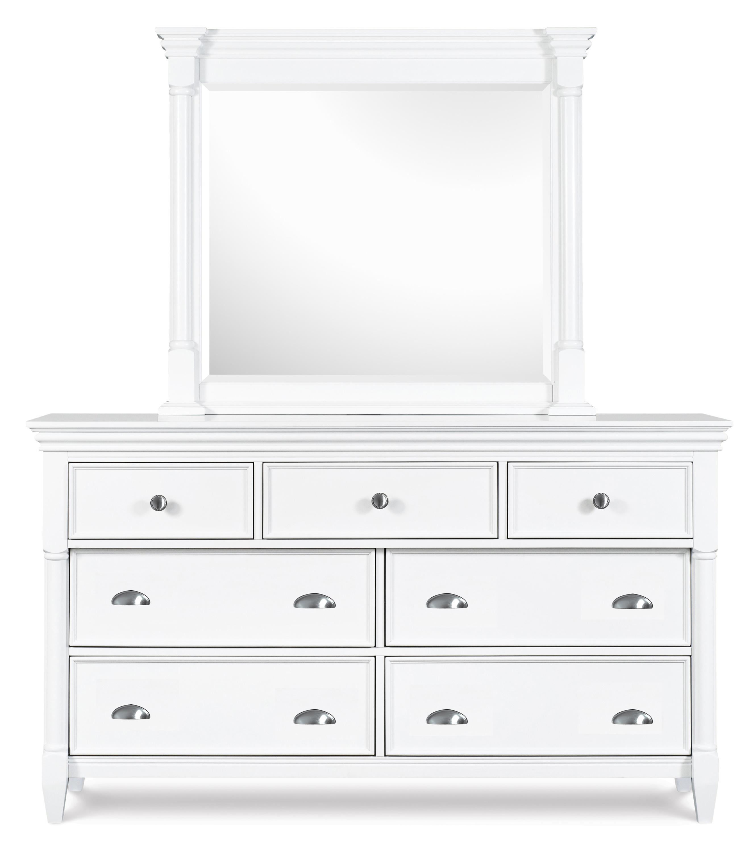 Kasey  Dresser & Mirror by Magnussen Home at Baer's Furniture