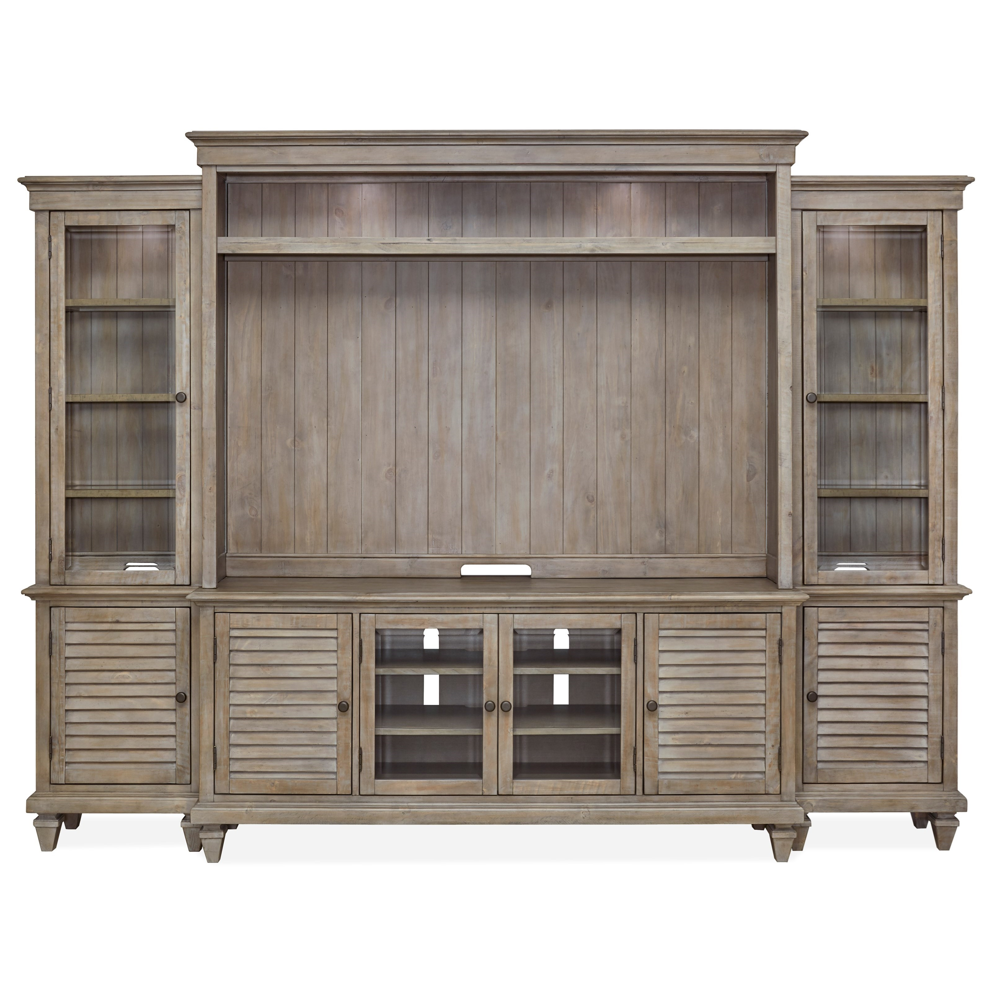 Lancaster Entertainment Wall Unit by Magnussen Home at Rotmans