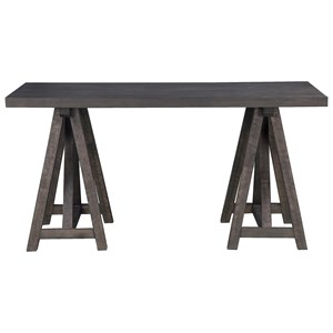 Rustic Desk with Wood Top