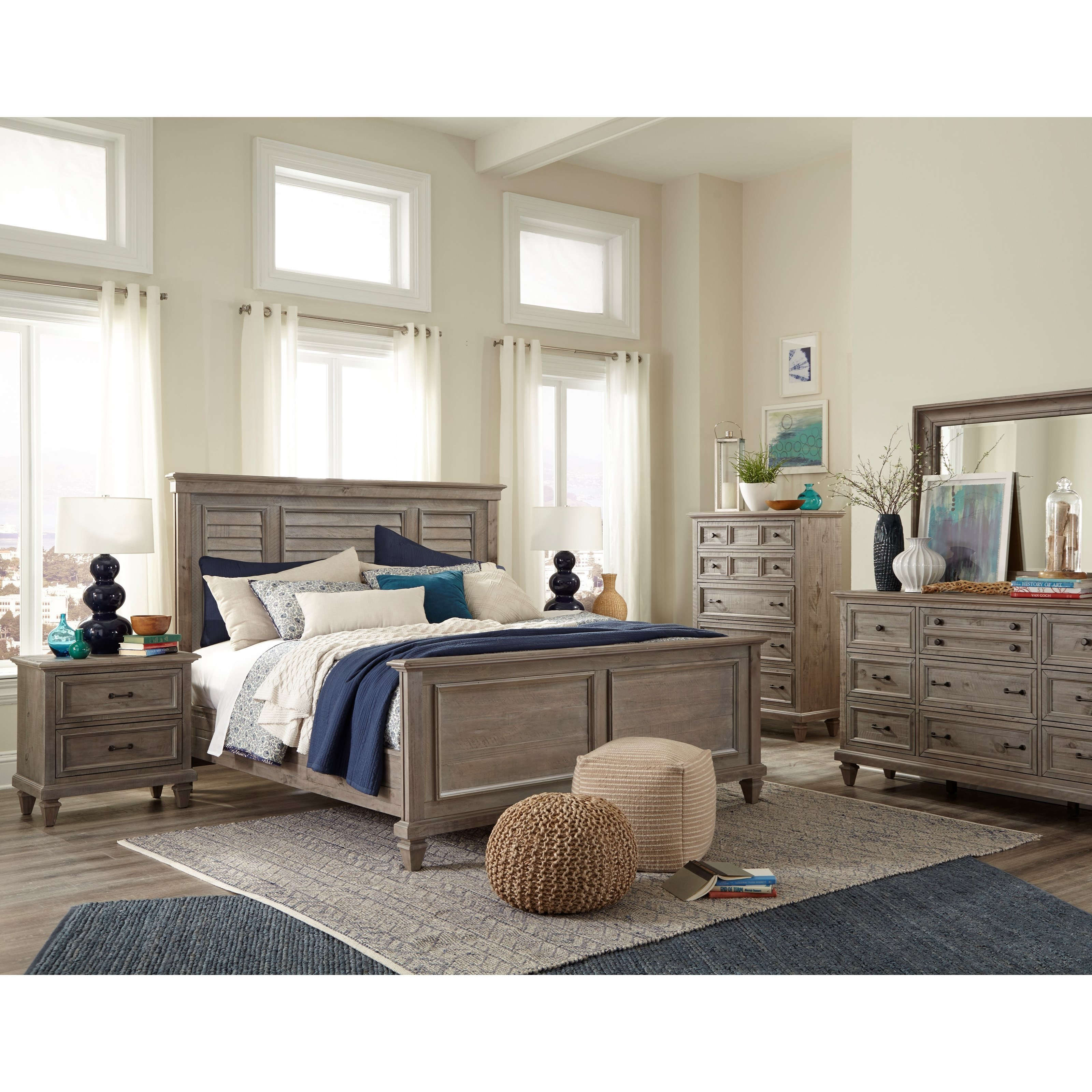 Lancaster 7PC Queen Bedroom Group by Magnussen Home at Value City Furniture