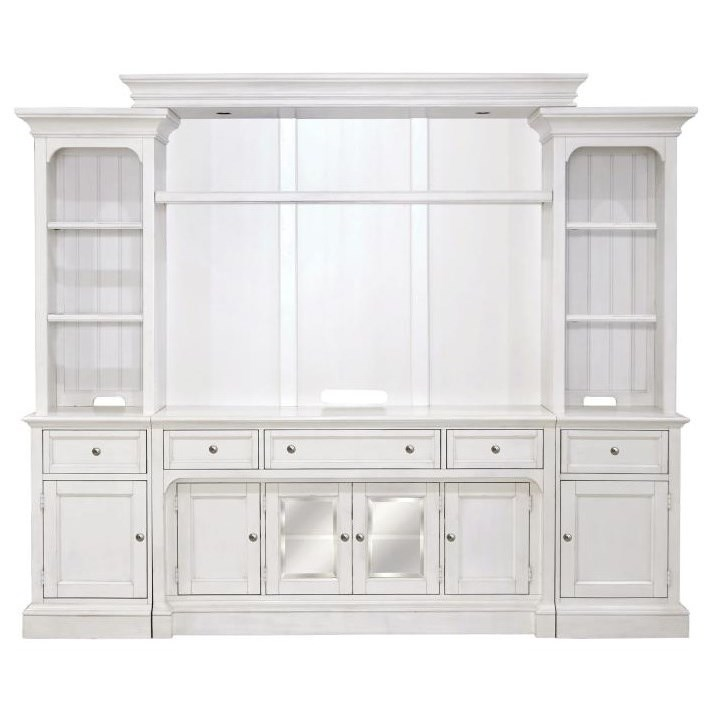 Laurel Garden Wall Unit by Magnussen Home at Baer's Furniture