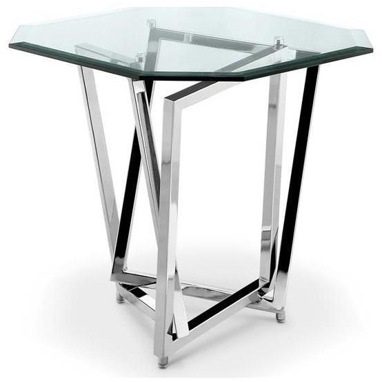 Octagonal End Table