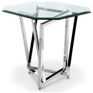 Contemporary Octagonal End Table