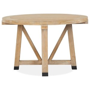 Relaxed Vintage Kitchen Table with Adjustable Levelers