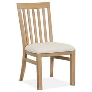 Relaxed Vintage Dining Side Chair